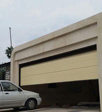 درب اتوماتیک زیر سقفی (سکشنال)